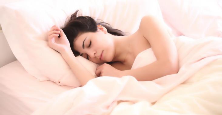 Lekker slapen in bed